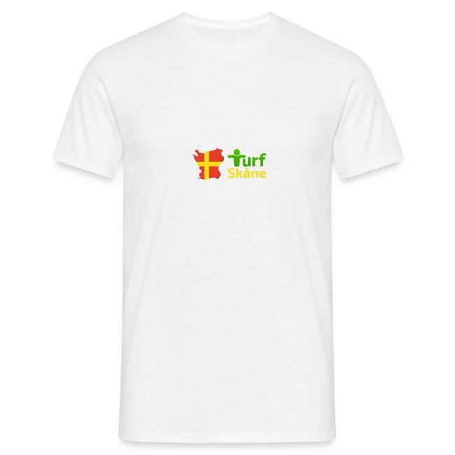 Turf Skåne Logo gul