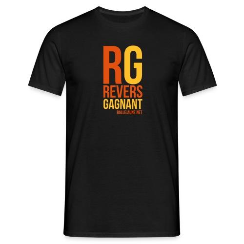 rg revers gagnant - T-shirt Homme