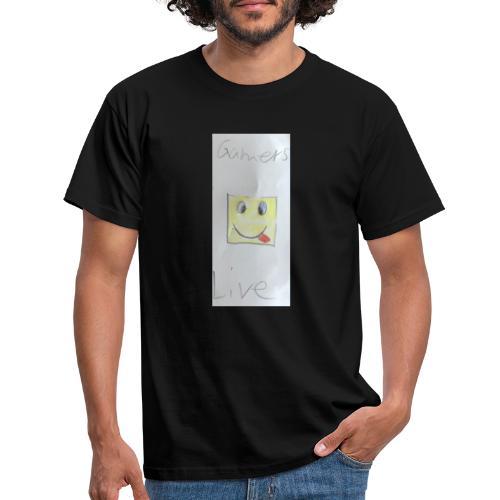 Gamers Live Maske - Männer T-Shirt