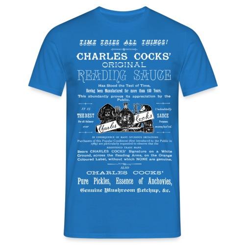 Cocks' Reading Sauce Reading - Men's T-Shirt