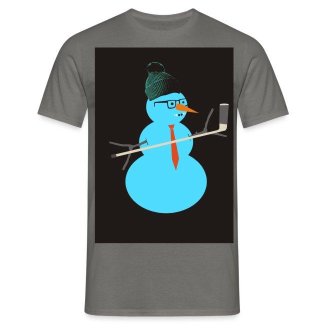 Hockey snowman