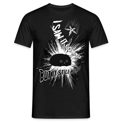 burst sw grayscale png - Männer T-Shirt