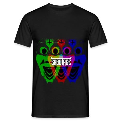 Masker Logo - Mannen T-shirt