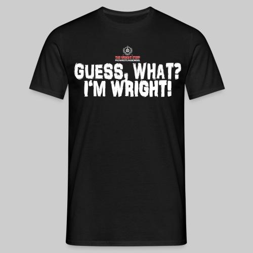 wright stuff imwright png - Männer T-Shirt