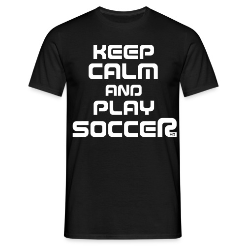 Keep Calm (Soccer) - Männer T-Shirt