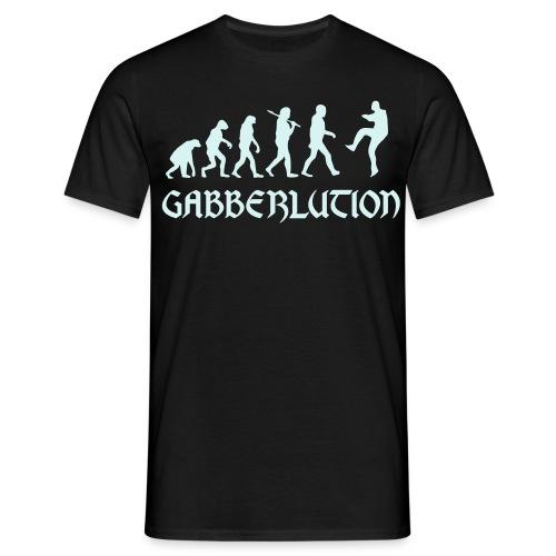 Gabberlution - Männer T-Shirt