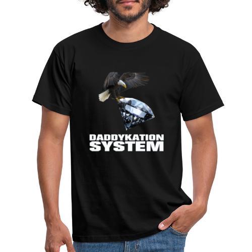 DADDYKATION SYSTEM // LOGO - Männer T-Shirt