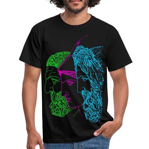 Jupiter Minerva and Hercules - Men's T-Shirt