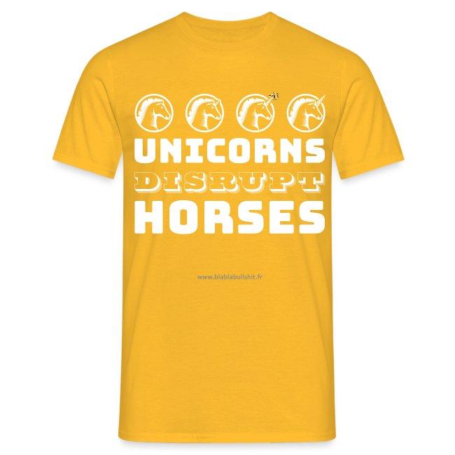 Unicorns Disrupt Horses