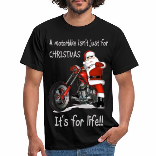motorbike for life - Men's T-Shirt