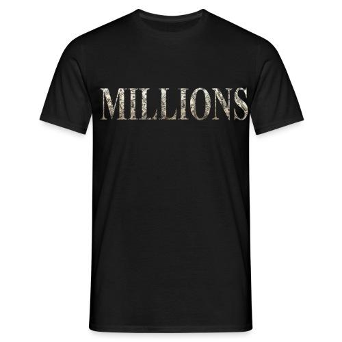 mil 2 png - Men's T-Shirt