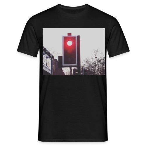 Red Traffic Light - Men's T-Shirt