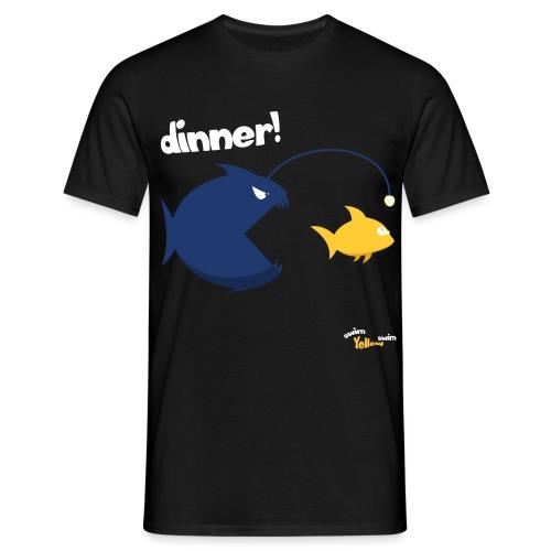Dinner - Mannen T-shirt