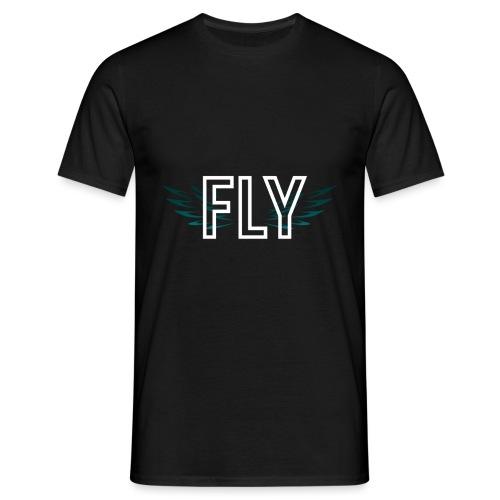Wings Fly Design - Men's T-Shirt