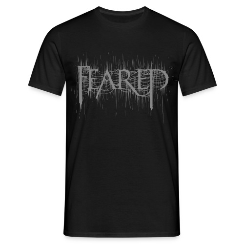 Feared-blackmetallogo gre - Men's T-Shirt