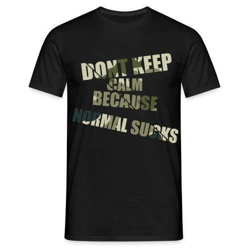 Normal sucks moro - Koszulka męska