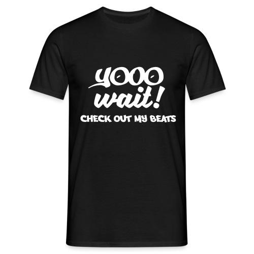 Check Out My Beats Shirt - Men's T-Shirt
