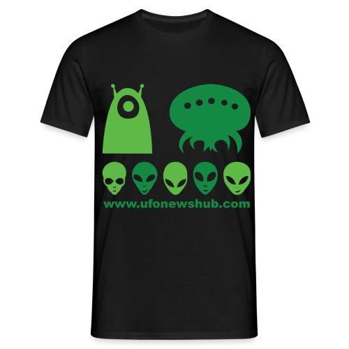 ufonewshubtee - Men's T-Shirt