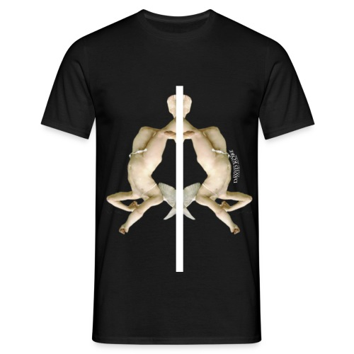 fallen angel png - Men's T-Shirt