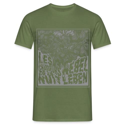 Nebel Leben Grey - Men's T-Shirt