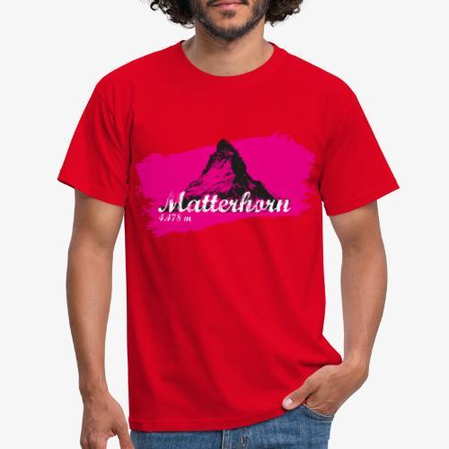 Matterhorn - Matterhorn in pink - Men's T-Shirt