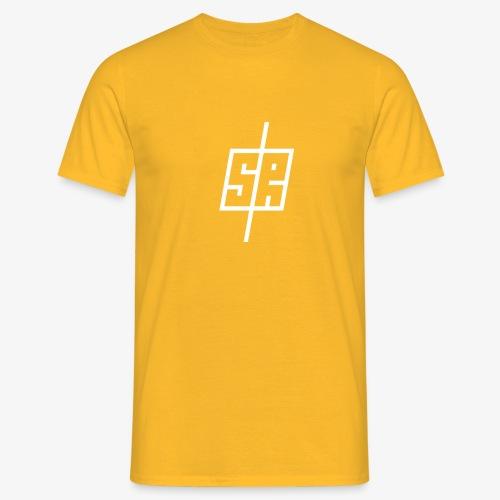 White logo (No background) - Men's T-Shirt