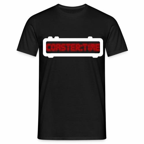 Coaster Time Weiss - ParkTube - Männer T-Shirt