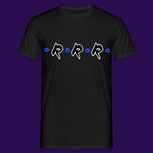Blue Logo - Männer T-Shirt