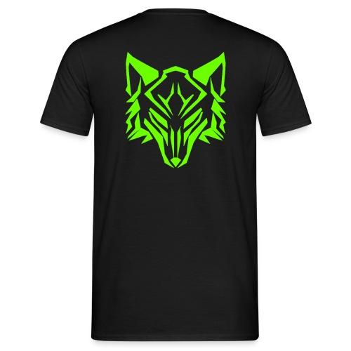 neon back logo png - Men's T-Shirt