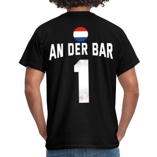 An Der Bar Niederlande Holland Party Sauftrikot - Männer T-Shirt