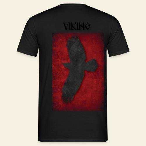 ravneflaget viking - Herre-T-shirt