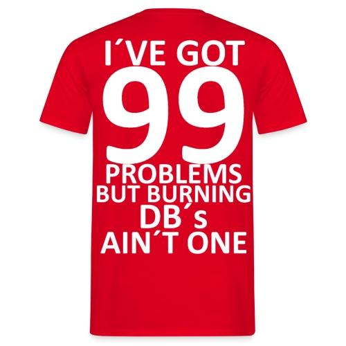 burningdbs1 gif - T-shirt herr