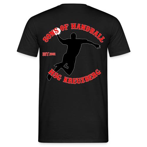hsg_logo2014_sons_red - Männer T-Shirt