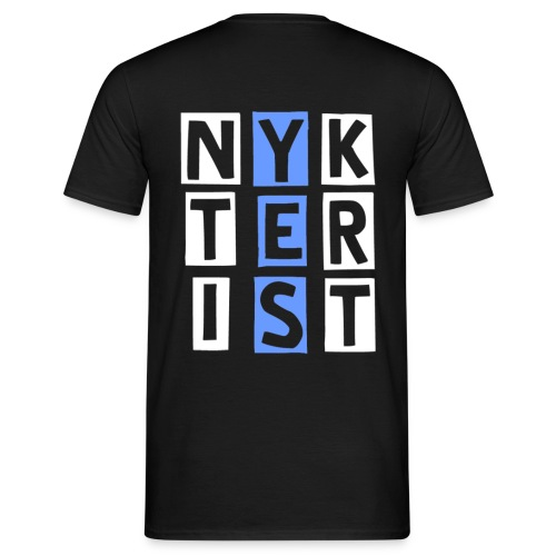 Nykterist Yes - T-shirt herr