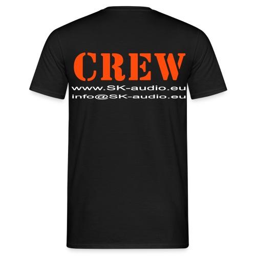 skaudio crew hintenkurve - Männer T-Shirt