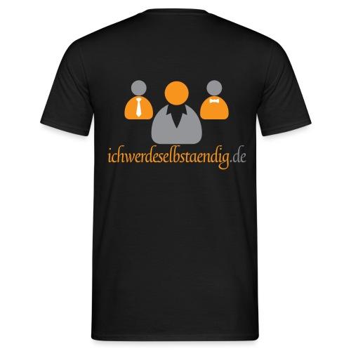 ichwerdeselbstaendig.de - Männer T-Shirt