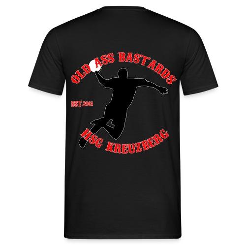 hsg_logo2014_old_ass_red - Männer T-Shirt