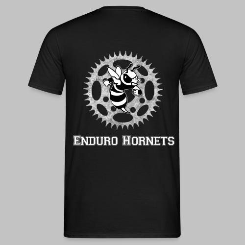 Logo Schrift drunter png - Männer T-Shirt