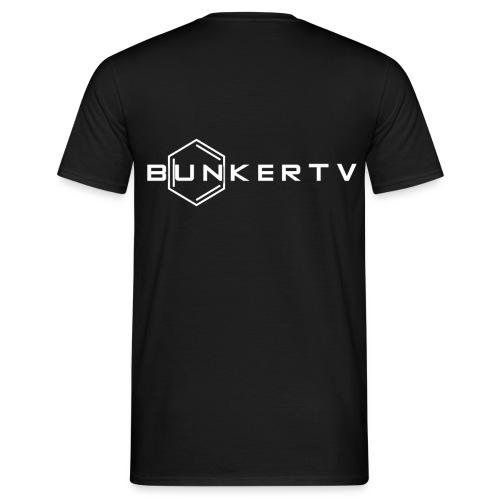 BunkerTV Logo - Männer T-Shirt