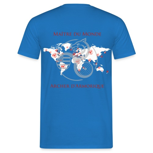carteplanisphere2 - T-shirt Homme