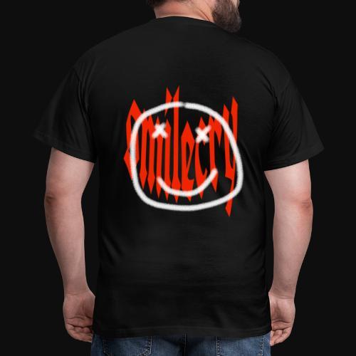 :) - Männer T-Shirt