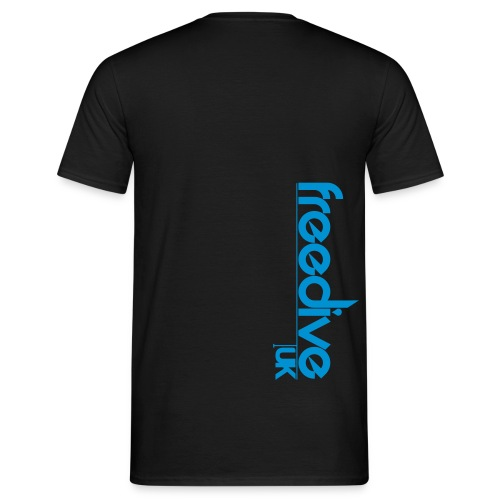 freediveuklogothicker - Men's T-Shirt