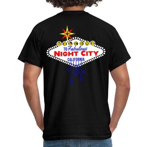 Cyber Punk Night City 2077 - Männer T-Shirt