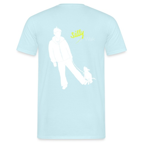 Silly Walk png - Männer T-Shirt