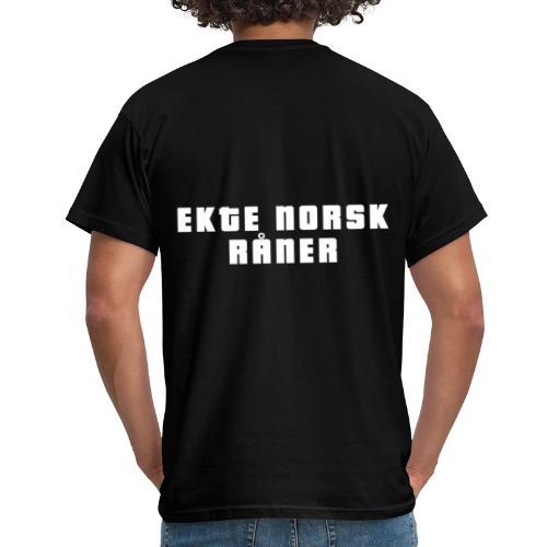 norskråner gif - T-skjorte for menn