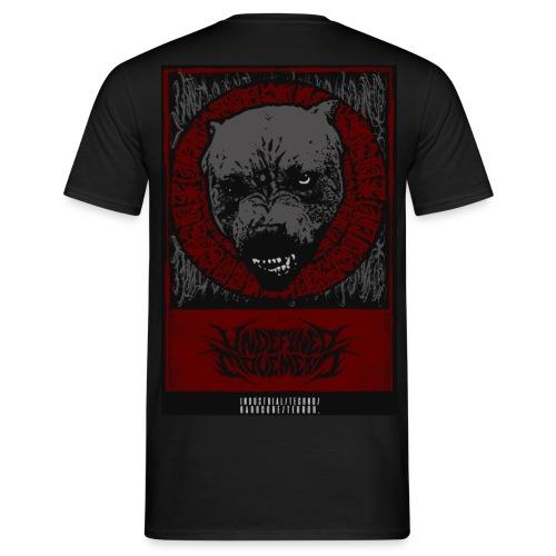 Pitbull Back Piece - Mannen T-shirt