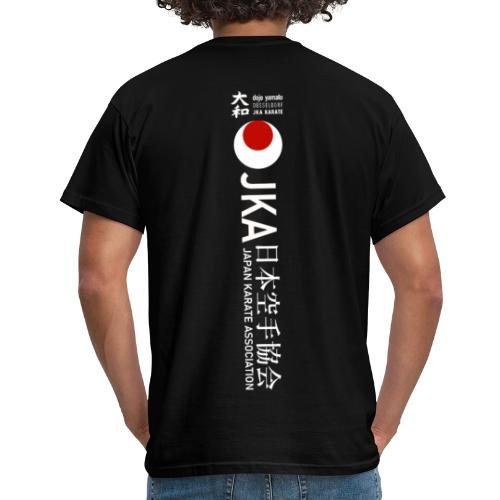 Rücken Schriftzug JKA Big - Männer T-Shirt