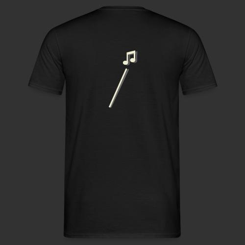 scheet muzieknoot - Mannen T-shirt