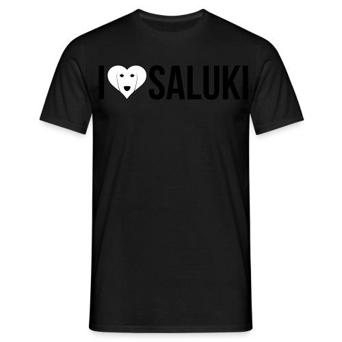I Love Saluki - Maglietta da uomo