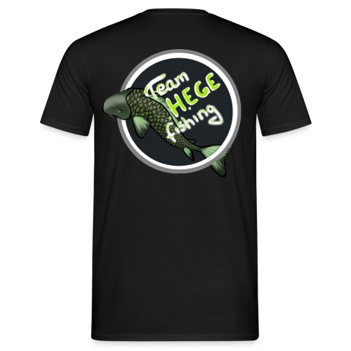 Logo Rücken Pulli - Männer T-Shirt